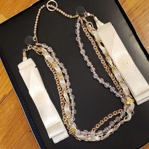 🆕️ Scunci Ribbon & Beads Sash Headband Bracelet